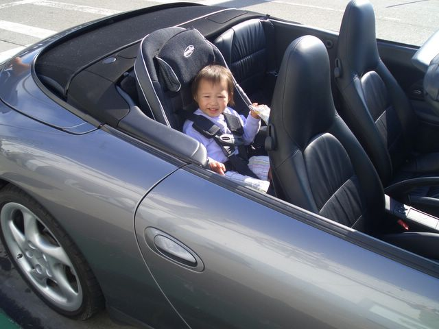 Baby Seat In A 996 996 Series Carrera Carrera 4